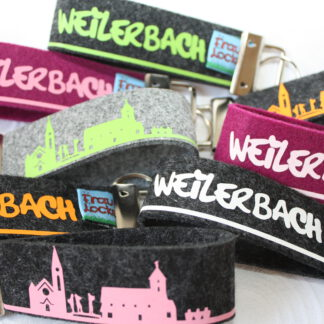 Weilerbach-Schlüsselanhänger