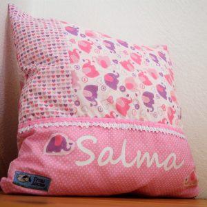 Namenskissen Salma