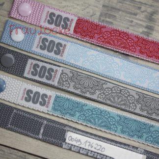 SOS-Armbänder für Erwachsene